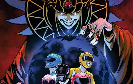Saban's Go Go Power Rangers #17 Preview