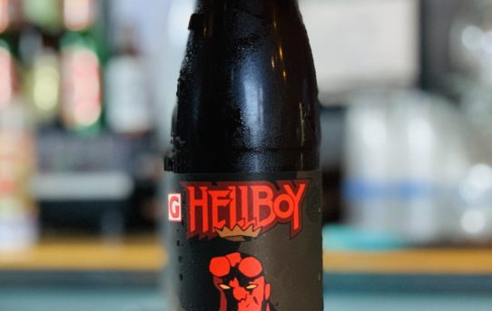 666 Cases of Hellboy Beer On Tap from Gigantic Brewing and Dark Horse Comics, Featuring New Bottle Art by Mike Mignola colored by Dave Stewart