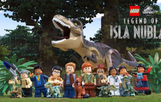 "New Jurassic World Adventures With ""LEGO® Jurassic World: Legend Of Isla Nublar"""