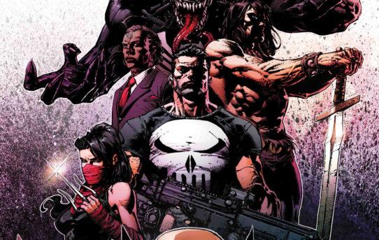 Venom, Punisher, Conan, Wolverine, Brother Voodoo, Elektra: THE SAVAGE AVENGERS!