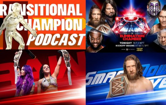 Transitional Champion Podcast Episode 4 - Elimination Chamber And The Fallout