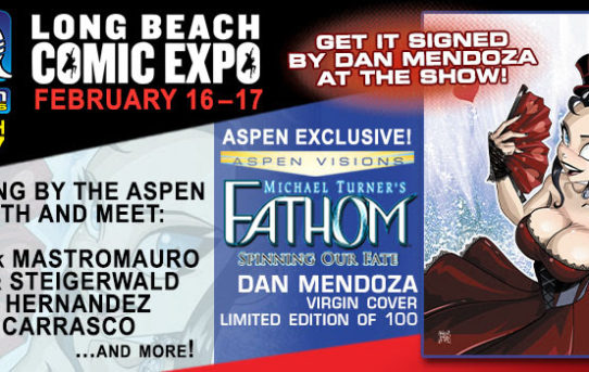 Aspen Comics at LBCE 2019 this weekend!