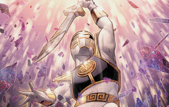 The Mighty Morphin Power Rangers Return…with The White Ranger!