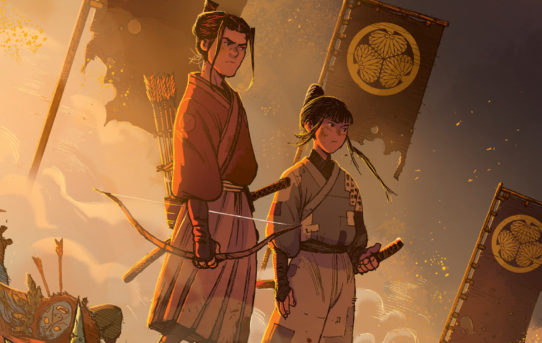 Your First Look at RONIN ISLAND #1 from BOOM! Studios