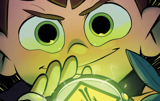 BOOM! Studios Reveals First Look at BEN 10™: FOR SCIENCE! Original Graphic Novel