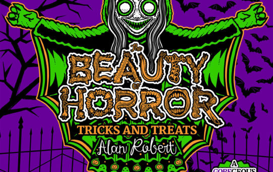 Make Mischief with THE BEAUTY OF HORROR: TRICKS AND TREATS Halloween Coloring Book