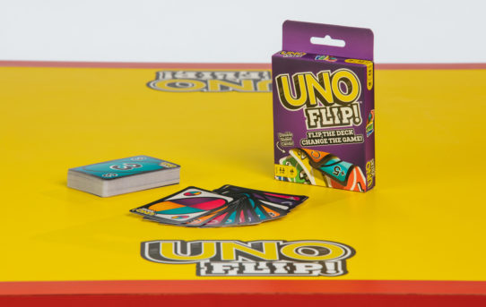 UNO® Flips the Deck with New UNO FLIP!™