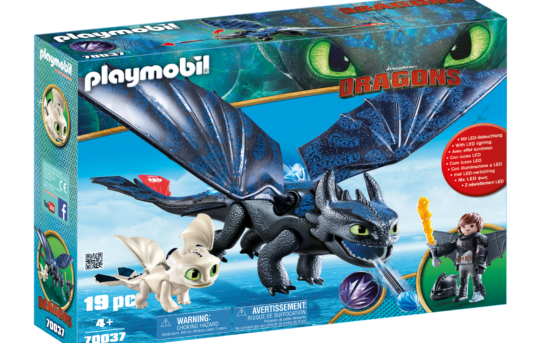 Playmobil DreamWorks Dragons 70037 Toothless and Hiccup