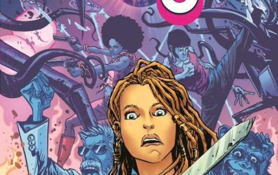 BRONZE AGE BOOGIE featuring apes, monsters, Kung Fu, sword-and-sorcery, and cosmic adventure