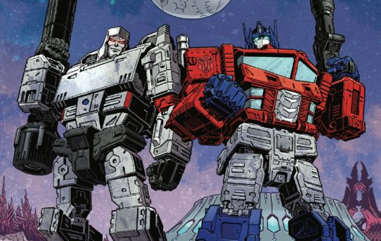 TRANSFORMERS #1 Preview