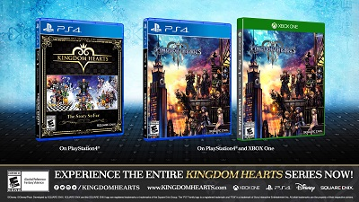 KINGDOM HEARTS -THE STORY SO FAR- COLLECTION RETURNS TO U.S. RETAILERS AND ARRIVES TO CANADA AND LATIN AMERICA THIS MONTH