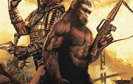 Planet Of The Apes: When Worlds Collide SoftCover