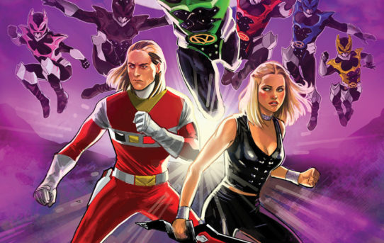 THE PSYCHO RANGERS STRIKE BACK IN AN ALL NEW POWER RANGERS OGN from BOOM! Studios
