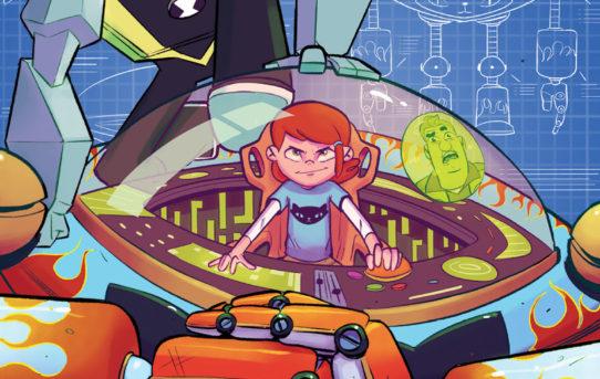 BOOM! Studios and Cartoon Network Announce BEN 10™: MECHA MADNESS Original Graphic Novel