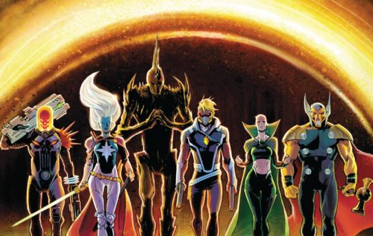 GUARDIANS OF THE GALAXY #4 Preview