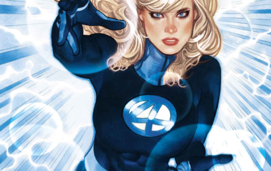 Sue Storm Flies Solo in INVISIBLE WOMAN #1!