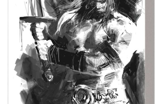 Conan Reigns In SAVAGE SWORD OF CONAN: THE CULT OF KOGA THUN BLACK AND WHITE TPB
