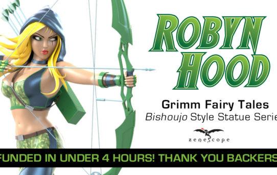 Zenescope Entertainment Announces Robyn Hood Collectible Statue Kickstarter