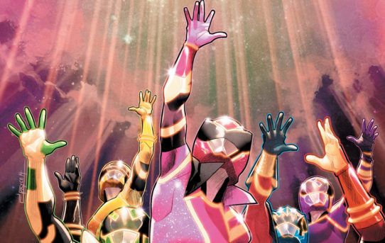 Mighty Morphin Power Rangers #39 Preview