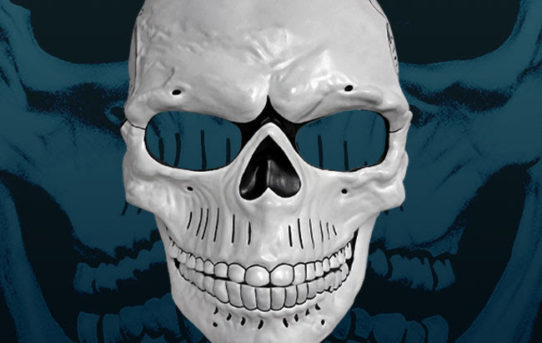 NEW: James Bond SPECTRE Day Of The Dead Mask Prop Replica