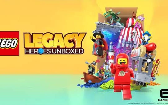 "Gameloft and the LEGO Group Unveil ""LEGO® Legacy: Heroes Unboxed"""