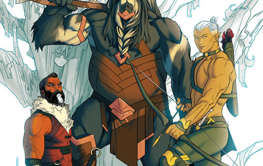 CHIP ZDARSKY TEAMS UP WITH KRIS ANKA & MATT WILSON FOR ALL-NEW FANTASY MINI, THE WHITE TREES