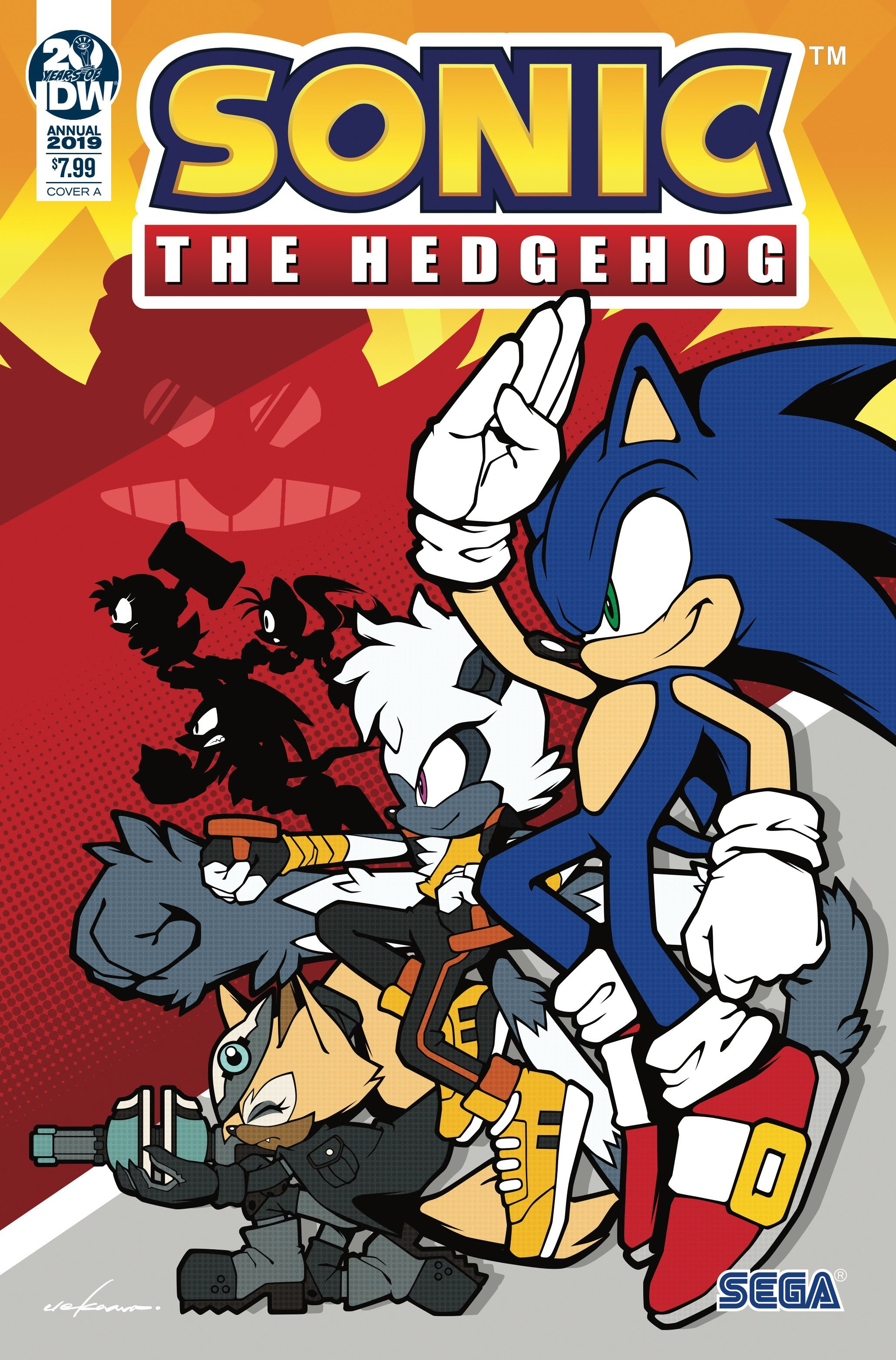 Sonic The Hedgehog Comic Books Build Momentum With Sold Out Annual And Ongoing Series Pop Culture Network