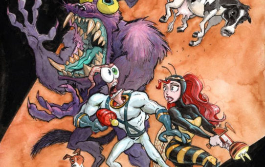 ORIGINAL EARTHWORM JIM™ TEAM REUNITES 25 YEARS AFTER INITIAL RELEASE TO CREATE A NEW EARTHWORM JIM GAME EXCLUSIVELY FOR THE UPCOMING INTELLIVISION® AMICO™ GAME CONSOLE