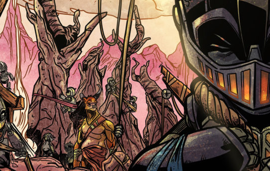 Watch the New Trailer for CANTO, A New Comic Book From IDW, Coming This June!
