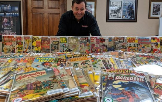 COLISEUM OF COMICS ANNOUNCES DEBUT OF ROY BROWN COLLECTION