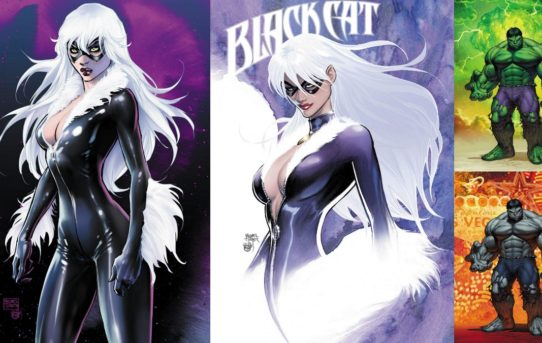 ASPEN COMICS NEW MARVEL EXCLUSIVES FEATURE THE IMMORTAL HULK AND BLACK CAT