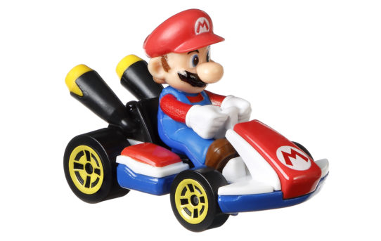 HOT WHEELS TEAMS UP WITH NINTENDO TO BRING THE WORLD OF MARIO KART TO FANS WITH NEW DIE-CAST TOY LINE