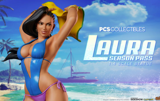 Sideshow and Pop Culture Shock Collectibles present the Street Fighter V Laura: Season Pass 1:4 Scale Statue