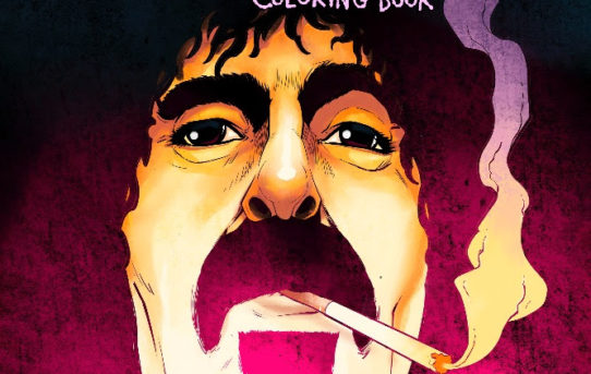 FANTOONS ANNOUNCES FRANK ZAPPA COLORING BOOK!