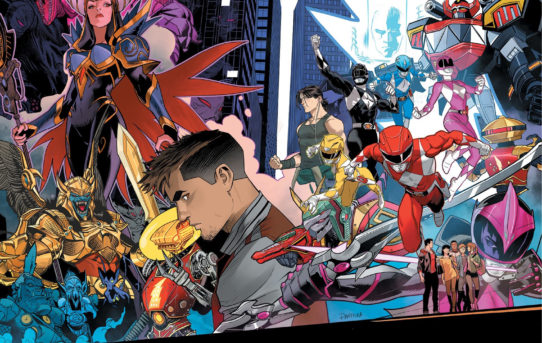 Your First Look at SABAN'S GO GO POWER RANGERS: FOREVER RANGERS #1 from BOOM! Studios