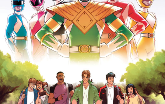 Your First Look at SABAN'S GO GO POWER RANGERS #21 from BOOM! Studios