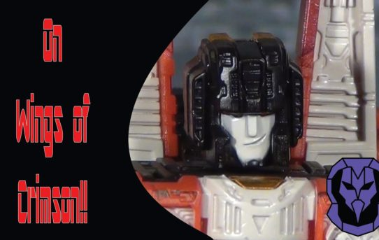 On Wings of Crimson!! Transformers Siege Redwing