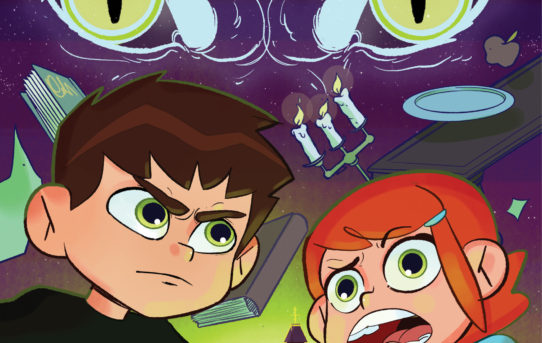 Face the Paranormal in BEN 10™: THE MANCHESTER MYSTERY Original Graphic Novel From BOOM! Studios