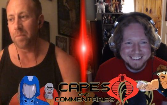 "Capes and Commentaries #56 - G.I. Joe ""Arise, Serpentor, Arise! Part 1"" + GalaxyCon Rant"