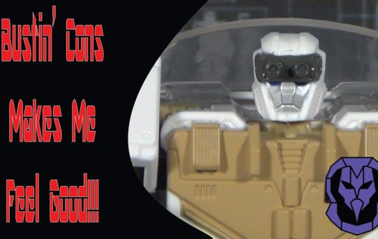 Bustin' Cons Makes Me Feel Good!!! Transformers Ghostbusters Crossover Ectotron