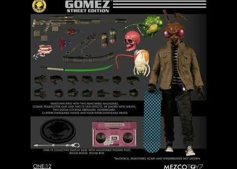 Mezco Toyz ONE:12 COLLECTIVE Gomez - Street Edition