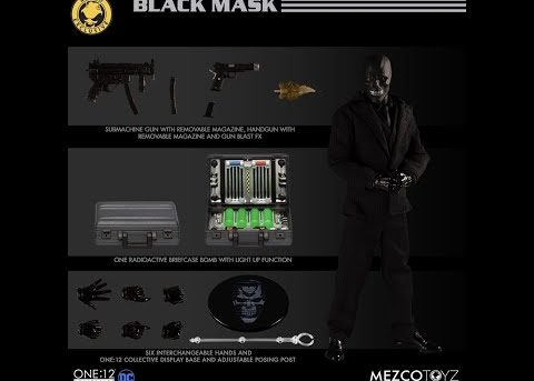Mezco Toyz ONE:12 COLLECTIVE Batman: Sovereign Knight vs Black Mask - Deluxe Box Set