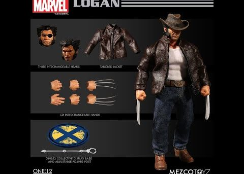 Mezco Toyz ONE:12 COLLECTIVE Logan