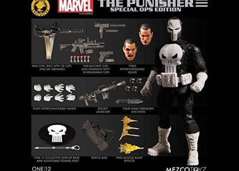 Mezco One:12 Punisher Special Ops Edition
