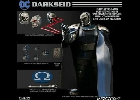 Mezco Toyz One:12 Collective Darkseid
