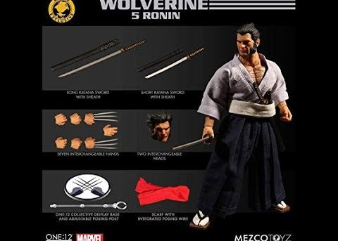 Mezco Toyz ONE:12 COLLECTIVE Wolverine 5 Ronin