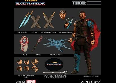 Mezco Toyz ONE:12 COLLECTIVE Ragnarok Thor