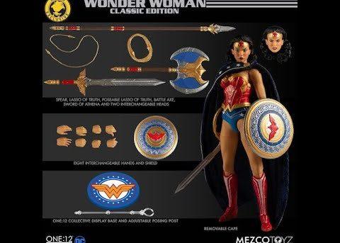 Mezco Toyz ONE:12 COLLECTIVE Wonder Woman - Classic Edition
