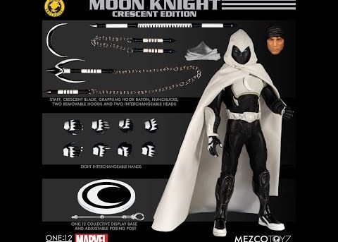 Mezco Toyz ONE:12 COLLECTIVE Moon Knight - Crescent Edition