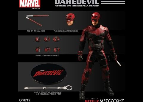 Mezco Toyz ONE:12 COLLECTIVE Netflix Daredevil